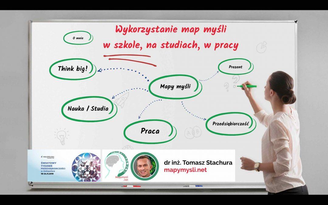 Jak wykorzystać mapy myśli aby być bardziej przedsiębiorczym
