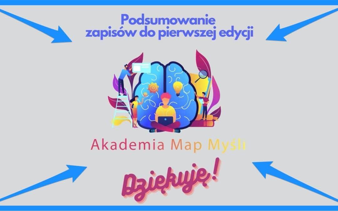 Ile zarobiła pierwsza edycja Akademii Map Myśli?